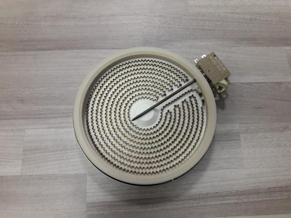 Seppelfricke,EK6300-1,Strahlenheizkörper,200mm,Elektroherd,Ersatzteil,Kochfeld,gebraucht,Erkelenz